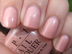 Shades Of Pink Nail Polish Beautiful Obsessive Cosmetic Hoarders Unite Blast Fro. - Shades Of Pink Nail Polish Beautiful Obsessive Cosmetic Hoarders Unite Blast From the Past - Opi Pink Nail Polish, Opi Nails, Nude Nails, Red Nail, Bling Nails, Coffin Nails, Acrylic Nails, Ongles Roses Clairs, Light Pink Nails