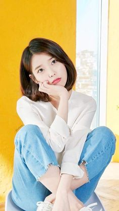 Cute Korean, Korean Girl, Asian Girl, Iu Short Hair, Short Hair Styles, Iu Fashion, Korean Fashion, Korean Beauty, Asian Beauty