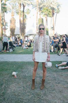 Kate Bosworth Coachella street styje