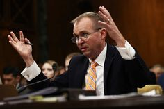 White House budget director Mick Mulvaney told a Senate committee that the administration's tax plan doesn't bank on any revenue stemming from faster economic growth. Four floors below that hearing, Treasury Secretary Steven Mnuchin gave a contradictory answer to a different Senate panel, insisting that the administration's tax plan will partly pay for itself with economic growth.