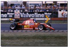Patrick Tambay Ferrari 126C3 F1 British GP 1983 ...