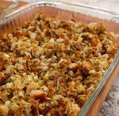 Krystal Burger Signature Secret Stuffing: If you live near a Krystal Burger, you are in luck! Make your dressing for that special dinner with a secret ingredien Krystal Restaurant, Krystal Burger, Thanksgiving Recipes, Holiday Recipes, Southern Recipes, Southern Food, Stuffing Recipes, Everyday Food, Ground Beef Recipes
