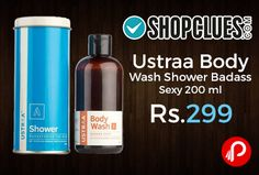 Flipkart is offering Ustraa Body Wash Shower Badass Sexy 200ml Just at Rs.299. Extra 5% off on Axis Bank Buzz Credit Cards.   http://www.paisebachaoindia.com/ustraa-body-wash-shower-badass-sexy-200-ml-just-at-rs-299-flipkart/
