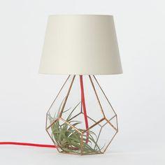 Copper Prism Lamp