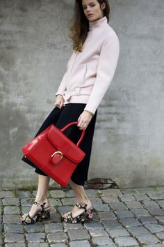 SHOP THE LOOK:    PFW live: Delvaux' It-bag  collaborating with Delvaux and CNNFashion during Paris Fashion