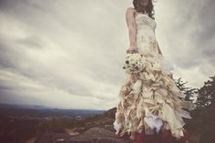 is this the most gorgeous dress you have ever seen + those layers....stunning | via ameris blog | found via #poppytalk