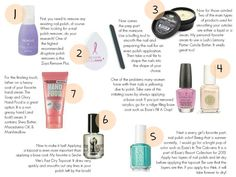 Simple Steps for At-Home Manicure Nail Art