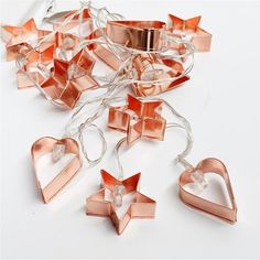 Lark Cookie Cutter Fairy Lights, $49.95