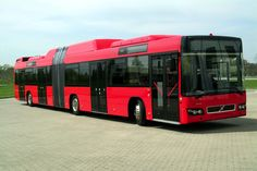 VOLVO 7700 articulated city transit bus  Europe