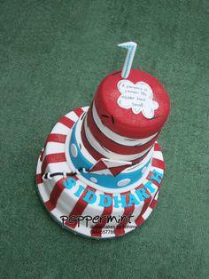 Dr Seuss birthday cake Dr Seuss Birthday, Birthday Cake, Peppermint Cake, Birthday Candles, Cakes, Birthday Cakes, Cake, Pastries, Torte