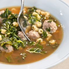 <p>Test cook Bridget Lancaster shows host Christopher Kimball how to make homemade Italian Wedding Soup.. test cook Julia Collin Davison reveals the secrets to the ultimate Hearty Spanish-Style Lentil and Chorizo Soup.</p>