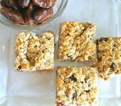 Gluten free sticky date and coconut bars