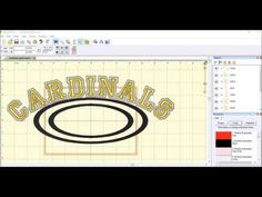 This is a video tutorial using Embrilliance Essentials to arc applique letters where each letter is it's own independent design. Embroidery Software, Machine Embroidery, Embroidery Designs, Applique Letters, Quilting, Essentials, Monogram, Tutorials, Lettering