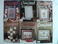 Vintage  For the Love of Cross Stitch by DocksideDesignsEtc, $8.10