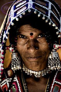 Southern India | Portrait of a Lambadi woman | ©Ian Mitchinson