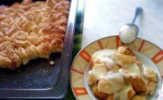 Vynikají volba na sladký oběd. Každý mlsoun si ulahodí tímto skvělým sladkým jídlem. Fantastické nadýchané malé briošky. Sweet Bread, Apple Pie, Waffles, Cake Recipes, Baking, Breakfast, Hungary, Breads, Diet