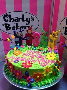Tellytubbies cake Birthday Parties, Birthday Cake, Theme Cakes, Word 2, Party Ideas, Desserts, Food, Crack Cake, Anniversary Parties