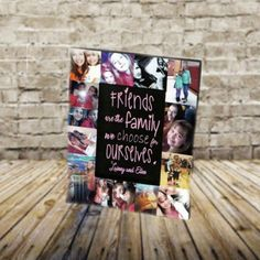 $29.95+ Best friend photo collage frame!  Personalize your frame with your very own photos and custom quote.  #4x6 #5x7 #8x10 #bestfriend #bff #bestfriends #friends #friendshipgoals #friendsforever #friendshipquotes #bestfriendsbirthday ##friendships #bae #bff #friend #bffs #frame #gift #college #birthday #family