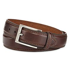jcp | Stafford® Leather Belt