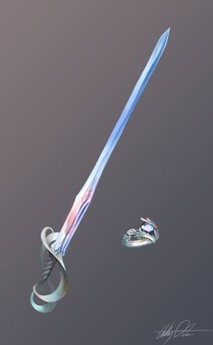 Anime Weapons, Weapons Guns, Rapier Sword, Cool Swords, Sword Design, Fantasy Sword, Dungeons And Dragons Homebrew, Weapon Concept Art, Fantasy Character Design