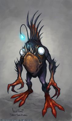 Deep Sea Murloc by Arsenal21 on deviantART