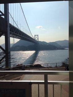 関門橋 関門海峡/山口県下関市 壇ノ浦SA