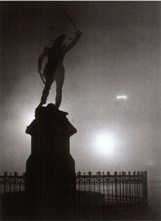 Brassaï / 'Brouillard sur la statue du Marechal Ney', 1932