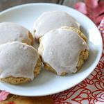 Soft Pumpkin Sugar Cookies #IBCFallCookieWeek  KitchenAid Mixer Giveaway!
