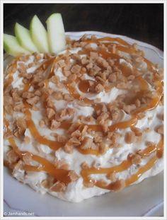 Caramel and Toffee Apple Dip Recipe ~ YUM!