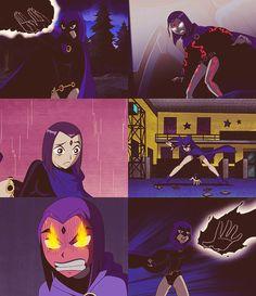 The Teen Titans: Raven