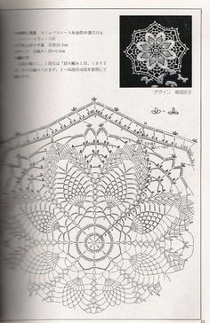Ondori crochet lace № 02 Crochet Doily Diagram, Crochet Doily Patterns, Crochet Chart, Thread Crochet, Filet Crochet, Crochet Motif, Crochet Doilies, Crochet Home, Crochet Granny
