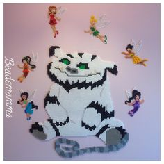 Tinker Bell and the Legend of the NeverBeast hama beads by beadsmamma