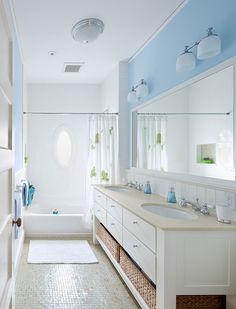 Bathroom Blue Bathroom #bathroom