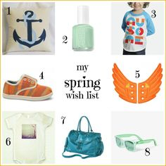 Spring Wish List, with links! #spring #toms #shwings #hellopillow #forever21 #binkypop