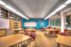 High School 21st Century classroom - HI