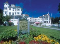 The Island House Hotel on Mackinac Island. If you're looking to stay on the island but don't want to spring for the Grand Hotel, the Island House is a pretty great option.