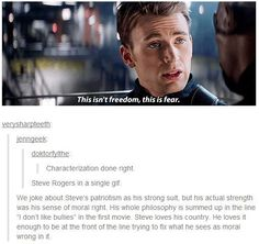 "And that's the reason why I don't understand and can't accept the ""evil Rogers"" Marvel made. Where's the logic, Marvel? I can TOTALLY accept a brainwhash, I can TOTALLY accept a double agent trying to destroy H.A alone (agrEED! Marvel Memes, Marvel Dc Comics, Marvel Avengers, Avengers 2012, Marvel Films, Marvel Universe, Fandoms, Dc Movies, The Villain"