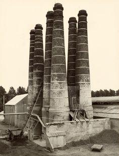 Lime Kilns, Holland, Photo © Bernd and Hilla Becher, 1968