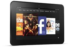 Kindle Fire HD 7 and 8.9.1920 x 1200 display, wafer thin, glare resistant screen tech, and OMAP processor. An upgrade from the original Fire, and at a friendly price point. Cheaper and faster tablets equals customer bliss!