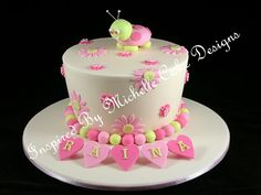michelle cake design | cute ladybug birthday cake Inspired By Michelle Cake Designs www ...