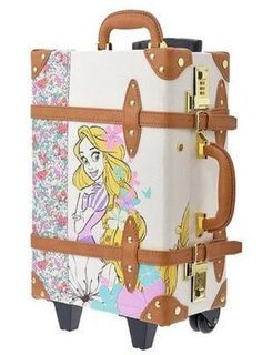 New Disney Store Japan Trolley Case/bag Happily Ever After Rapunzel Cute Disney, Disney Style, Disney Luggage, Disney Store Japan, Disney Purse, Disney Souvenirs, Trolley Case, Disney Rapunzel, Disney Home