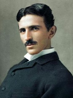 Nikola Tesla c.1856-1943 was a Serbian-American, known for his inventions, engineering, and design of modern alternating current-AC. (Wiki) He immigrated to the US, in 1884. Lived most of his American life in NYC hotels during the Gilded Age!