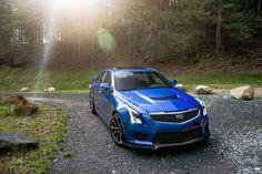 2016 Cadillac ATS-V POV Drive