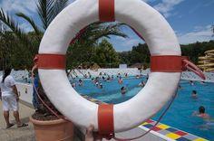 A biztonság is nagy hangsúlyt kap az élményfürdőben!