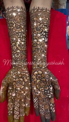 Modern Henna Designs, Finger Henna Designs, Full Hand Mehndi Designs, Mehndi Designs For Girls, Mehndi Design Photos, Henna Designs Easy, Henna Tattoo Designs, Bridal Mehndi, Mehendi