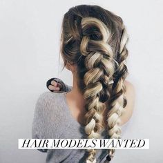 Are you trying to grow your hair out, but you are so tired of your split ends? I'm creating my summer portfolio and I'm looking for ladies that are ready to get the long, healthy hair that they have always wanted! For more information message me on instagram @sav_ashley_jefferson
