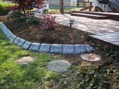 Ideas for Borders & Lawn Edging