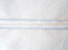 Tilly and the Buttons: Finishing Seams: Zigzag Stitch