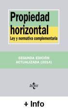 Propiedad horizontal : ley y normativa complemetaria