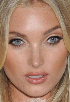 Close-up of Elsa Hosk at the 2016 Victoria's Secret Easy Collection launch. http://beautyeditor.ca/2016/08/08/beautiful-skin-phoebe-tonkin